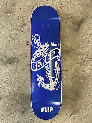 Flip Skateboard Deck - 8.0 - Matt Berger - Free Grip