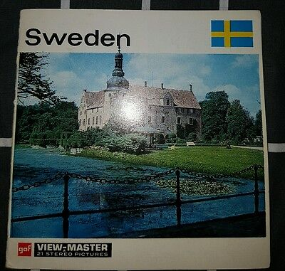 Viewmaster reels Sweden Complete Set Near mint condition