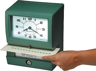Acroprint 150NR4 Heavy Duty Automatic Time Recorder Month Date Hour (1-12)/Min