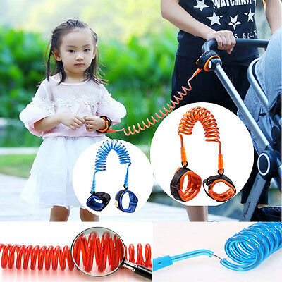 Useful Toddler Baby Kids Safety Harness Leash Anti Lost Wrist Link Traction Rope
