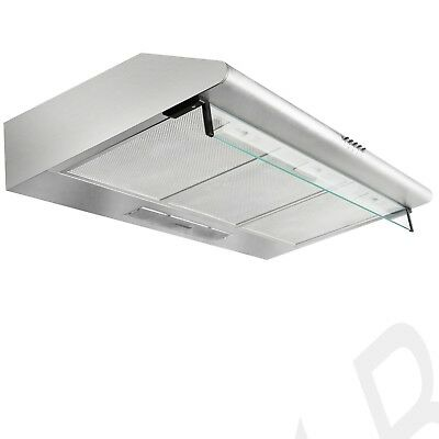 Kitchen Rangehood 900mm Stainless Steel Canopy Range Hood 90cm NEW