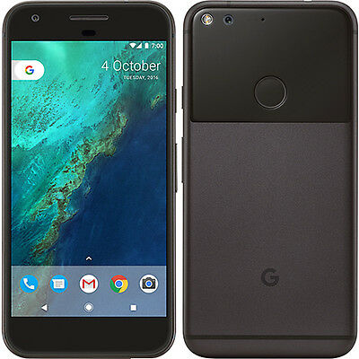 Google Pixel 32GB SIM Free Unlocked Android OS Smartphone - Quite Black