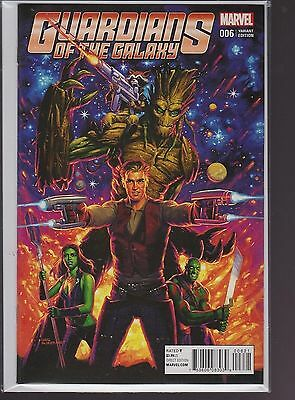Marvel Comic Guardians of the Galaxy #6 Hildebrandt Classic Variant