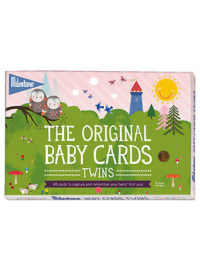 NEW - Milestone Cards - Baby Photo Cards for Twins