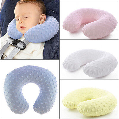 Baby Child Head Neck Support Headrest Travel Car Seat Pillow Cushion Buckle