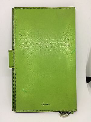 Authentic Cartier Vintage Leather Agenda Cover e703497