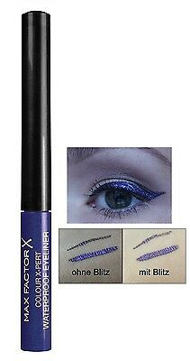 MAX FACTOR Colour X-Pert Waterproof Eyeliner (03 Metallic Lilac) NEU&OVP