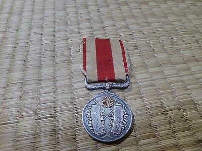 1915 JAPANESE TAISHO EMPEROR ENTHRONEMENT Woman MEDAL navy army 0A8