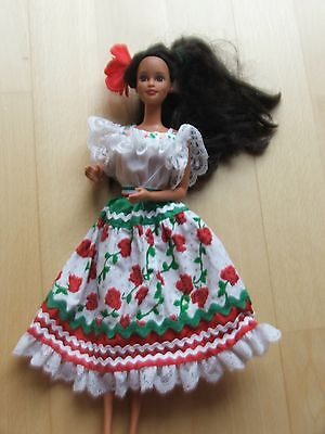 Mexican 2nd Edition 1996 Barbie Dolls of the World Collection 14449 SAMMLER
