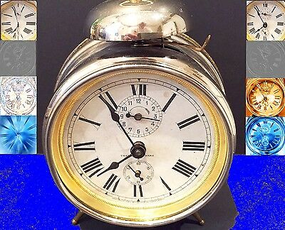 Very Rare 1899 First Seiko (Seikosha) Alarm Clock Ever Produced - Working -Great