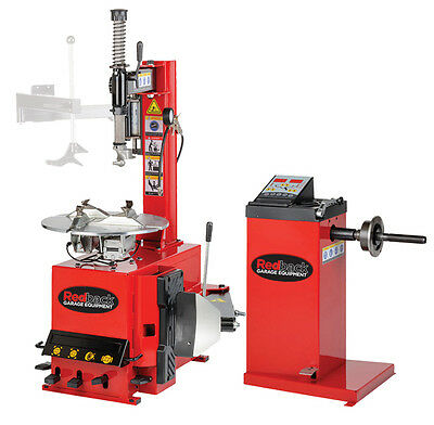 Tyre Equipment Package Tyre Changer / Manual Wheel Balancer