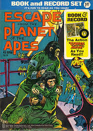 Escape from the Planet of the Apes Comic 1974 20 Pages