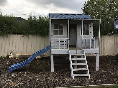 Timber Cubby House