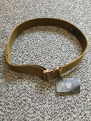 Hussar Tactical Riggers Belt HT Defender Cobra Buckle Coyote Brown Size Small