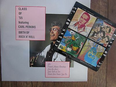 "12""  PERKINS/CASH/ORBISON/JLL    BIRTH OF ROCK & ROLL   45RPM.+ Class of 55 EP."