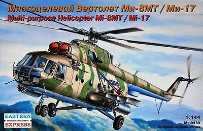 1:144 Eastern Express #14501 - Soviet Military Helicopter Mi-8MT / Mi-17  USSR