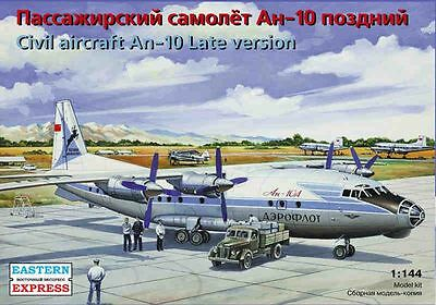 1:144 Eastern Express #14485 - Civil aircraft An-10 Late version  USSR, Russia