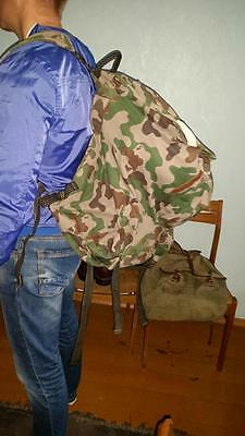 Lithuania army 1992 model military bagpack very rare used condition