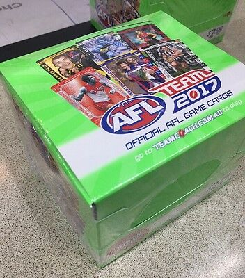 2017 Afl Teamcoach Footy Trading Cards Factory Sealed Box 36Pks