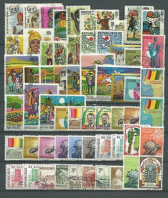 Guinea, 108 Various, Used