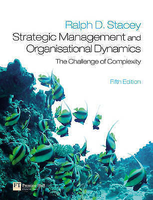 strategic management and organisational dynamics the challenge of complexity pdf
