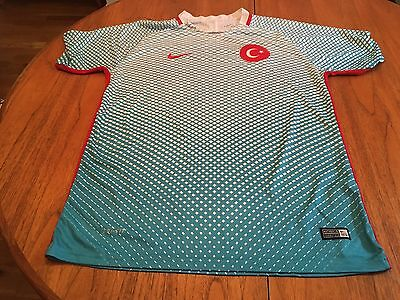 Xl Rare Nike Turkey Away Short Sleeved Football Shirt