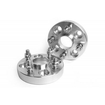 2PCS Hubcentric Wheel Spacers 4x114.3 66.1 25MM M12x1.25 UK Stock