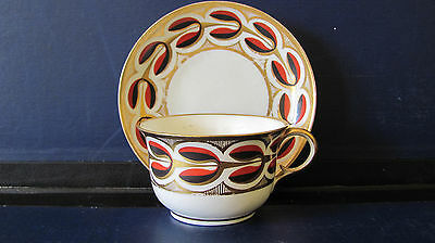 DERBY CUP AND SAUCER  PATTERN 721 c1800