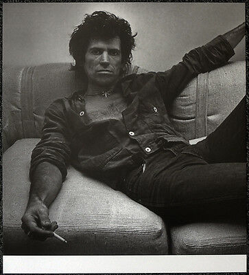 The Rolling Stones Poster Page 1980 Keith Richards . Y65