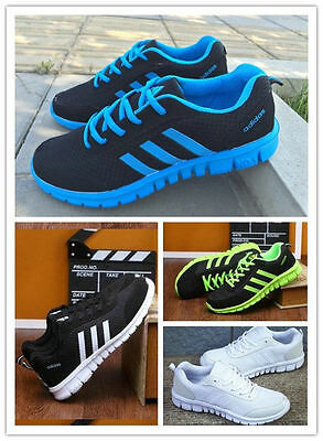 2017 NEW FASHION Mens Running Walking Shock Absorbing Sports Fitness Shoes