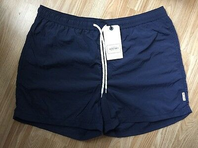 "**CLEARANCE** Jack & Jones New Men's Navy Blue Swim Shorts Medium 32-34"" RRP £20"