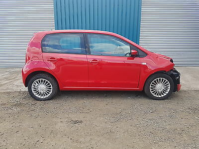 Volkswagen High Up! 1.0L Petrol- 2014- Cat C Damaged Repairable- Only 7K Miles