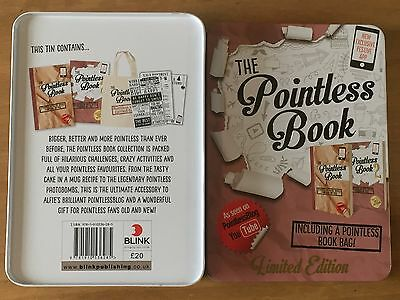 The Pointless Book Collection - Limited Edition Tin - 2 Books & Bag