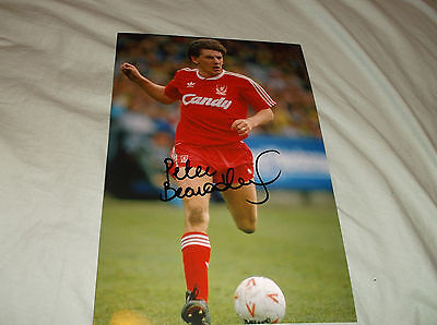 Stunning Signed Peter Beardsley Liverpool 12 x 8 Photograph Clearance Sale