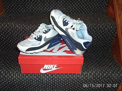 mens nike air max 90 essential trainers size uk 10