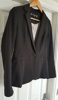 Principles - Ladies Fitted Suit Jacket / Blazer - Size 10 - Black - Lined