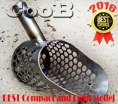 Sand Scoop CooB SMALL *SCOUT v2* Stainless Steel Hunting Detector Tool
