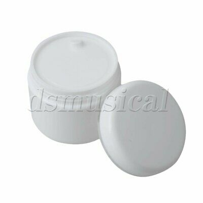 10pcs DIY Plastic White Empty Cosmetic Sample Containers Jars Pots 30g