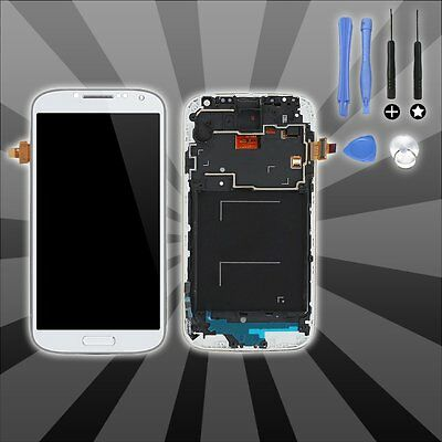 For Samsung Galaxy S4 i9505 White LCD Display Touch Screen Digitizer Replacement