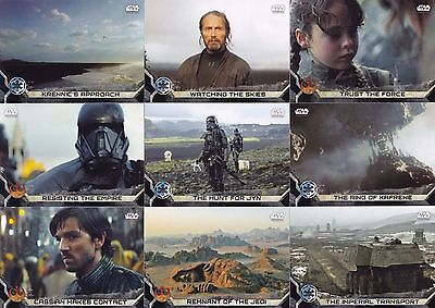Star Wars - Rogue One - Series 2 - Complete Trading Card Set (90) TOPPS 2017 -NM