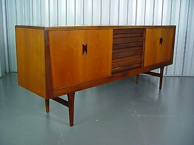 Vintage Elliots Of Newbury Wooden Sideboard Mid Century Retro Furniture