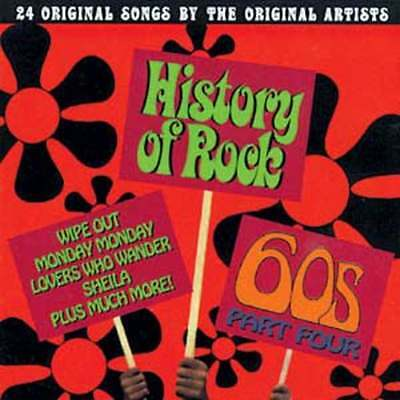 History of Rock: The 60's, Part 4 NEW CD