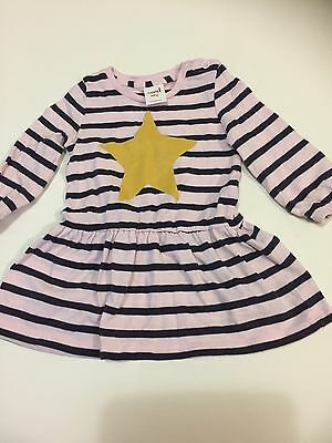 Gorgeous Seed baby girl long sleeve dress Size 3-6Months