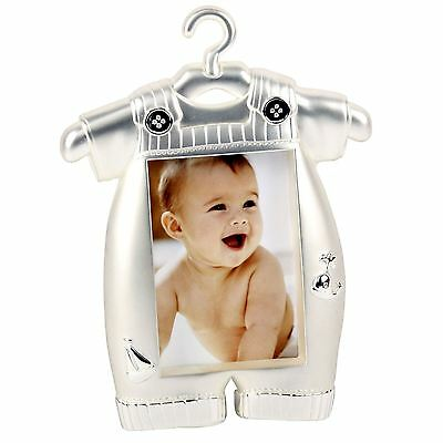 Impressions by Juliana Collection 2 Tone Silver Plated Photo Frame Baby Romper