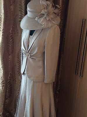 designer mother of the bride Outfit Size 16 Jacket & Skirt 14