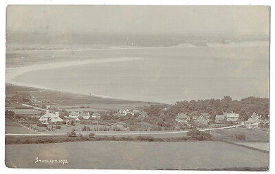 STUDLAND General View, RP Postcard by Pouncy, Postally Used 1911