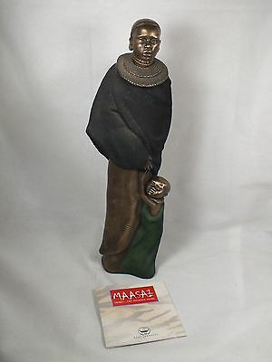 Soul Journeys Collection Maasai Mashavu 'A Sister's Care' Figurine 2001 - Boxed