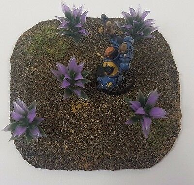 Warhammer  wargames scenery terrain tree bush Palm Grass x10