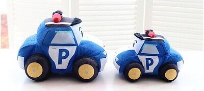 Kids Gift Toy Mini Police Car Plush Soft Stuffed Toys For Kid Dolls 35cm