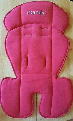 Ex-display iCandy Apple Seat Snuggle Liner red